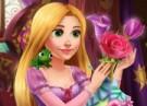 لعبة تزيين اناء الزهور مع روبينزل