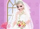 لعبة تلبيس إلسا الفستان الأبيض