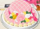 لعبة طبخ وتزيين كعكة القبعة