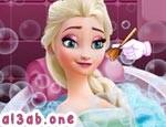 استحمام السا ملكة الثلج