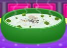 لعبة طبخ شوربة الماشروم بالكريمة