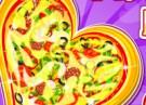لعبة طبخ البيتزا القلب اللذيذة