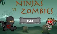 لعبة قتال النينجا قد الزومبي