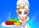 لعبة مطعم إلسا وطبخ السالمون