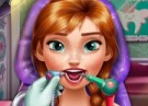 لعبة علاج اسنان الاميرة آنا