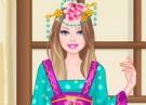 لعبة تلبيس باربي ملابس الاميرة الصينية