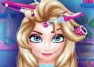 لعبة قص شعر الأميرة إلسا