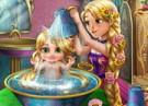 لعبة استحمام روبينزل بيبي