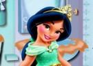لعبة تنظيف حمام الأميرة ياسمين بيبي