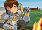 لعبة بن تن المقاتل فى ساحة القتال