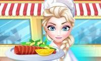 لعبة مطعم الاميرة إلسا