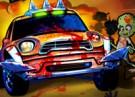 لعبة سيارة الزومبي الغاضبة